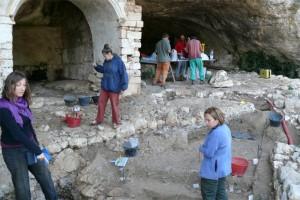 i lavori al parco archeologico