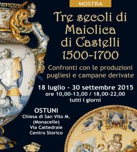 "Mostra ""Tre secoli di Maiolica"""