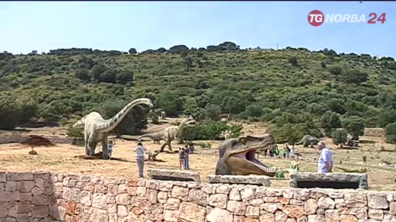 Dinosauri al Parco Archeologico