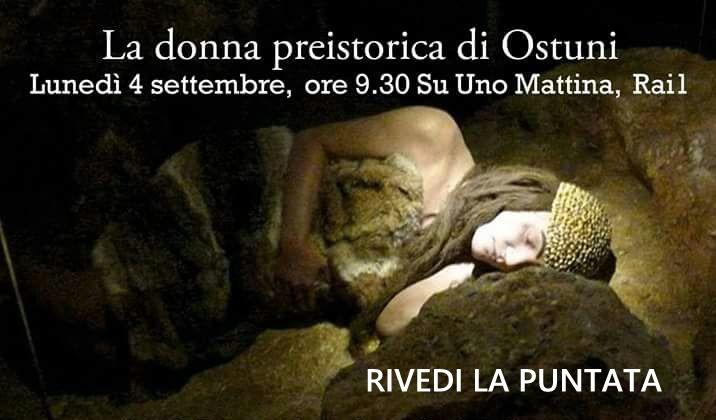 """La donna di Ostuni ad \""""Uno Mattina\"""" Rai1"""