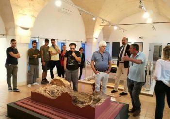 Valerio Massimo Manfredi al Museo di Ostuni
